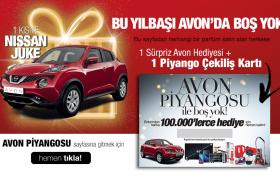 Avon Piyangosu Hediyeleri