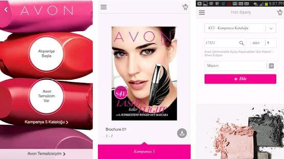 Avon mobil uygulaması