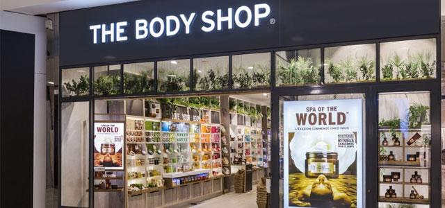 The Body Shop mağaza görüntüsü