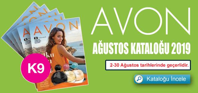 Avon Ağustos Kataloğu
