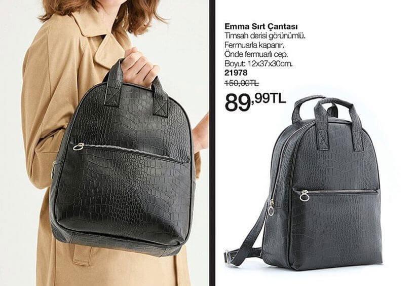 Avon sırt çantası