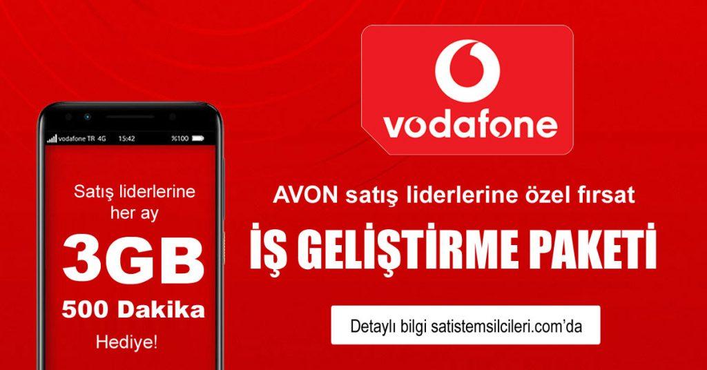 Avon Vodafone kampanyası